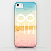 Forever Young iPhone & iPod Case by M Studio