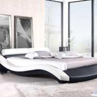 VX1 Contemporary Platform Bed (king)
