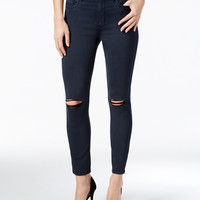 Calvin Klein Jeans Ripped Colored Ankle Skinny Jeans - Calvin Klein Jeans - Women - Macy's