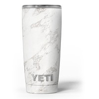 Slate Marble Surface V4 - Skin Decal Vinyl Wrap Kit compatible with the Yeti Rambler Cooler Tumbler Cups