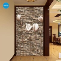 XCHELDA Custom 3D Wallpaper Design Retro Stereo Buds Photo Kitchen Bedroom Living Room Wall Murals Papel De Parede Para Quarto