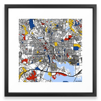 Society6 Baltimore Framed Print
