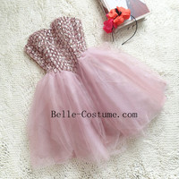 Short Prom Dresses, Sweetheart Homecoming Dresses, Short Prom Dress 2016