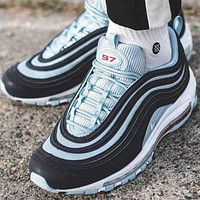 Nike Air Max 97 Premium Dark Obsidian/ Ocean Bliss Gym shoes