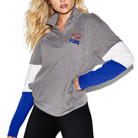 University of Florida Bling Boyfriend Half-Zip - PINK - Victoria's Secret