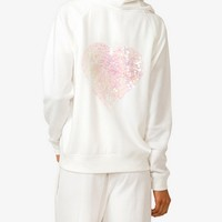 Sequined Heart Lounge Hoodie