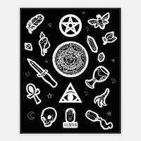 Witchcraft Supplies Occult Stickers | HUMAN