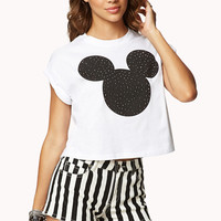 Mickey Mouse Cropped Tee
