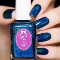Cupcake Polish Bat-chelor Pad Nail Polish (The Modern Vampire Collection)