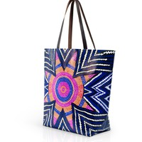 The Girl Project Exclusive Tote by Glamour x Mara Hoffman x Maybelline New York