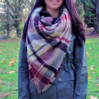 Blanket Scarf New Colors