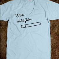 The Fault In Our Stars, John Green, TFIOS, It's A Metaphor, QUOTE, Fault In Our Stars Shirt