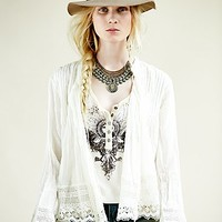 Free People Womens FP ONE Softly Woven Jacket