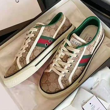 G GG Tennis 1977 Embroidered breathable casual sports shoes sneakers