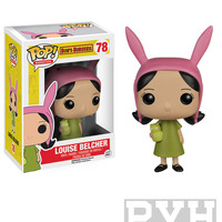 Funko Pop! Animation: Bob's Burgers - Louise Belcher - Vinyl Figure
