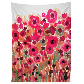 Natasha Wescoat Brightly Blooming Tapestry