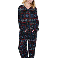Undergirl Doctor Who Snow Flake Onsie Multi