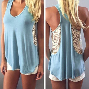 Boho  summer lace top