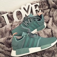 Adidas NMD r1 breathable woven sports casual running shoes sneakers-12