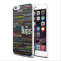 The Beatles Lyric Songs TY00 iPhone case and Samsung Galaxy case