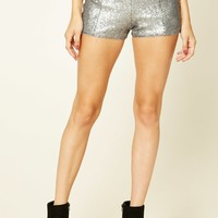 Contemporary Sequin Shorts