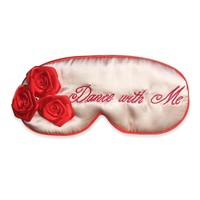Double Sided Red Floral 925 Eyemask [9223112259]