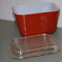 Pyrex Refrigerator Dish with Lid
