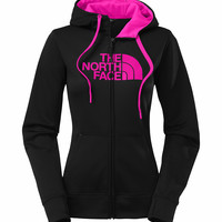 The North Face Half Dome Full Zip Hoodie in Black for Women CW61-CGA
