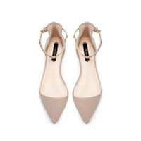 POINTY SHOES WITH ANKLE STRAP