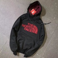 ONETOW Tagre? The North Face Fashion Hooded Long Sleeve Top Sweater Pullover Hoodie Sweatshirt