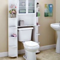 Deluxe Over-the-Toilet Space Saver Cabinets