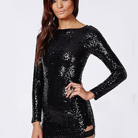 'The Megan' Sequin Mini Dress