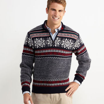 Shop Sweaters for Men: North Coast 1/4-Zip Sweater for Men - Vineyard Vines