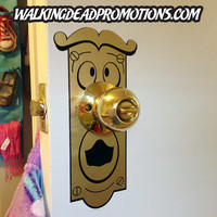 You unlock this door with the key to imagination