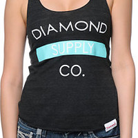 Diamond Supply Co. Bar Logo Black Tank Top