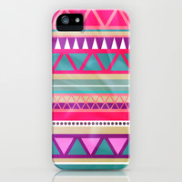 Aztec Pattern iPhone & iPod Case by hayleyhigson