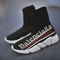 Balenciaga Stretch fabric, casual sports shoes socks boots G