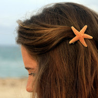 Sugar Starfish Barrette - Small