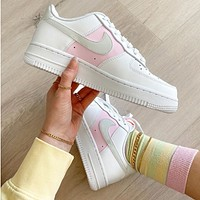Nike Air Force 1 AF1 White Pink Sneaker