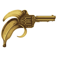 Enkel Dika's Banana Gun Wall Decal