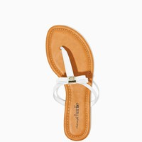 Catalin Bow Sandals | Shoes | charming charlie