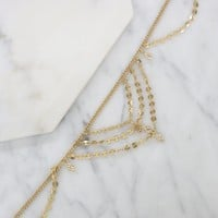 All Hail the Queen Choker in Gold