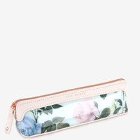 Distinguishing rose pencil case - Mint | Gifts for Her | Ted Baker