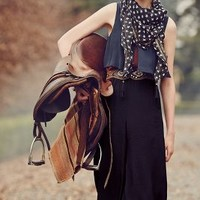 Spangled Scarf by Anthropologie