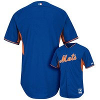 Majestic New York Mets Cool Base Batting Practice Jersey