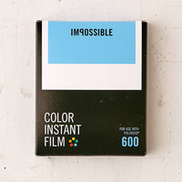 Impossible Color Polaroid 600 Instant Film   Urban Outfitters