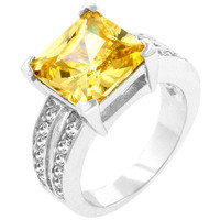 Jonquil Princess Ring, size : 10