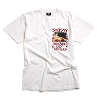 World Tour Gallery Pigment Dyed T-Shirt Natural
