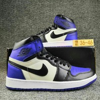 Women's and Men's NIKE Air Jordan 1 generation high basketball shoes 035