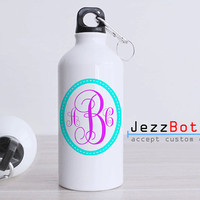 Personalized Monogram Initial - Bottle Sport - Custom Water Bottle -  Club Bottle Sport - Include Name